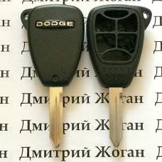 Корпус автоключа Dodge (Додж) 5+1 кнопки