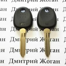 Корпус авто ключа под чип для Hyundai (Хундай) левый без упора
