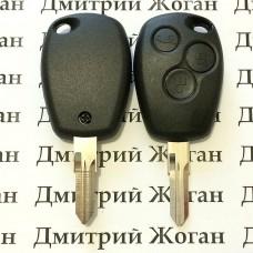 Корпус автоключа для Opel (Опель) 3 кнопки, лезвие VAC102