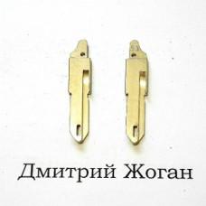 Лезвия для выкидного ключа Opel (Опель) NE73 (боковое крепление)