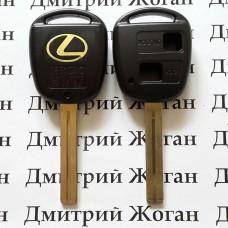 Корпус для автоключа LEXUS (Лексус) 2 - кнопки, лезвие TOY40