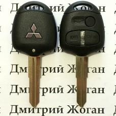 Корпус авто ключа MITSUBISHI (Митсубиси) 3 - кнопки, лезвие MIT8
