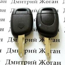 Корпус ключа для  Renault Master,Kangoo (Рено Мастер,Канго) 1 - кнопка, лезвие NE73