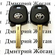 Корпус авто ключа под чип для Toyota (Тойота) лезвие TOY48
