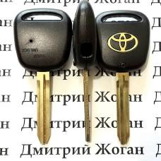 Корпус автоключа Toyota (Тойота)  1 кнопки