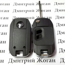 Корпус выкидного ключа для Субару (Subaru) 2 кнопки