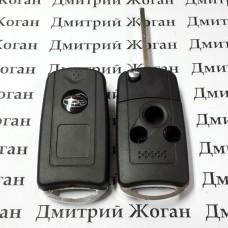 Корпус выкидного ключа для Subaru (Субару) 3 кнопки