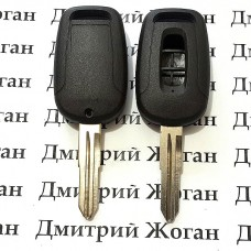 Ключ для шевролет каптива (CHEVROLET CAPTIVA) 3 кнопки