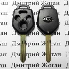 Корпус ключа для Subaru (Субару) 3 кнопки+1 , лезвие NSN14