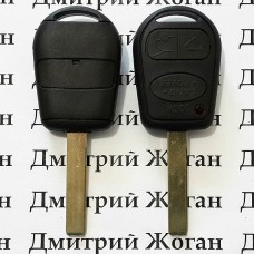 Корпус автоключа LAND ROVER Range Rover (Ленд Ровер Ренж Ровер) 3 - кнопки лезвие HU92