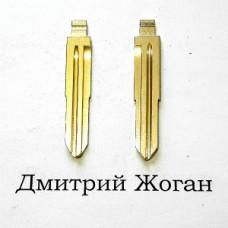 Лезвие для выкидного ключа KIA  (КИА) левое с упорами