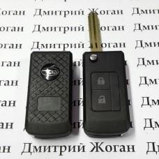 Корпус выкидного ключа для Subaru (Субару) 2 кнопки, лезвие NSN14