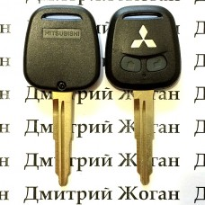 Корпус авто ключа для Mitsubishi Lancer (Мицубиси Ланцер) 2 - кнопки