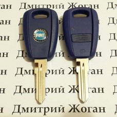 Корпус автоключа для Fiat Punto (Фиат Пунто) 1 - кнопка с лезвием GT15