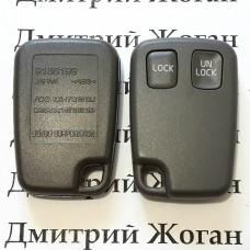 Корпус пульта для Volvo (Вольво) 2 кнопки