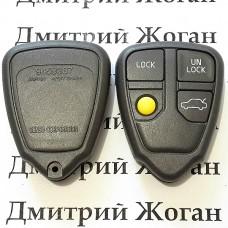 Корпус пульта для Volvo (Вольво) 4 кнопки