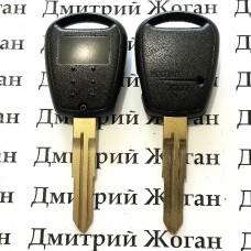 Корпус автоключа KIA (КИА) 1 кнопка (с плоским лезвием)