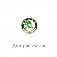 Логотип для авто ключа Skoda (Шкода)