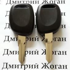 Корпус авто ключа под чип для RENAULT (Рено) лезвие VAC102