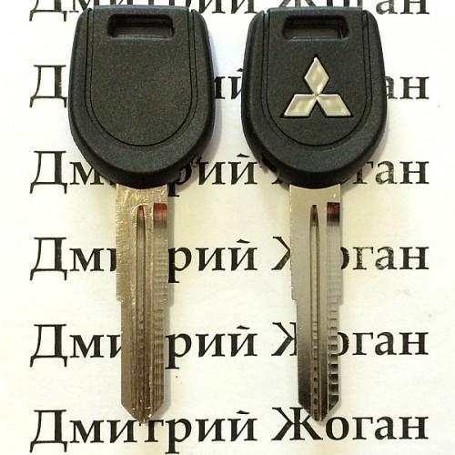 Корпус ключа под чип для MITSUBISHI L200, Pajero, Grandis(Митсубиси, Паджеро, Грандис), лезвие MIT8