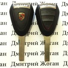 Корпус автоключа для Porsche (Порше) 3 кнопки, лезвие HU66