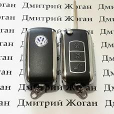 Корпус выкидного автоключа для VOLKSWAGEN (Фольксваген) 3 ― кнопки