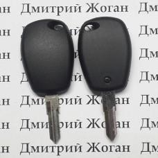 Корпус авто ключа под чип для RENAULT(Рено),лезвие VAC 102