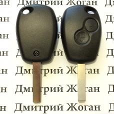Корпус автоключа для Opel (Опель) 2 кнопки, лезвие VA2
