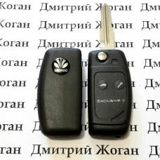 Выкидной ключ для Daewoo Lanos (Дэу Ланос), 2 кнопки