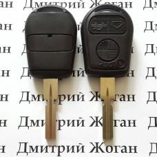 Корпус ключа для BMW E38, Е39, Е46 (БМВ) 3 кнопки, лезвие HU58