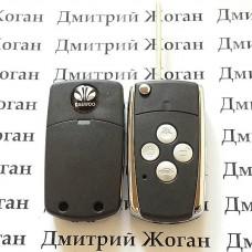 Корпус выкидного ключа для Daewoo Lanos (Дэу Ланос) 4 - кнопки