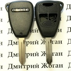 Корпус автоключа для Dodge (Додж) 2 кнопки +1 (panic)