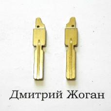 Лезвие для выкидного ключа BMW (БМВ) HU58 (боковое крепление)