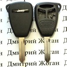 Корпус для автоключа Jeep (Джип) 2+1 кнопки (тип 2)