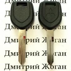 Корпус авто ключа под чип для Mitsubishi (Митсубиси) левое  без упора