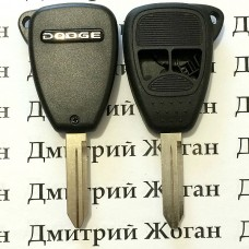 Корпус автоключа Dodge (Додж) 2 кнопки (тип 2)