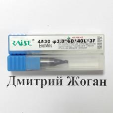 Фреза для вертикального станка (карбидовая) 3 мм