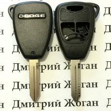 Корпус автоключа для Dodge (Додж) 3 кнопки + 1 (panic)