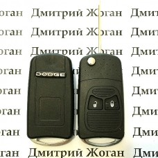 Корпус выкидного ключа для Dodge (Додж) 2 кнопки