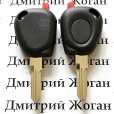 Корпус авто ключа под чип для RENAULT (Рено), лезвие VAC102