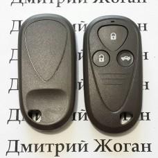 Корпус пульта Acura (Акура) - 3 кнопки