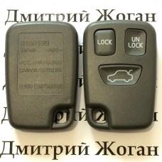 Корпус пульта для Volvo (Вольво) 3 кнопки