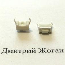 Кнопка №7,  6*3.5 мм