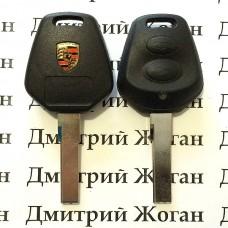 Корпус автоключа Porsche (Порше) - 2 кнопки