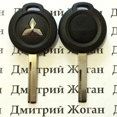 Корпус авто ключа для Mitsubishi Colt (Мицубиси Кольт) 2 - кнопки
