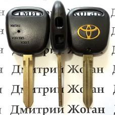Корпус автоключа Toyota (Тойота) 2 кнопка