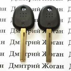 Корпус авто ключа под чип для Hyundai (Хундай) левый пропил