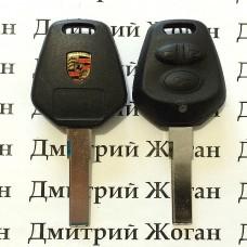 Корпус автоключа для Porsche (Порше) 3 кнопки