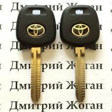 Корпус авто ключа под чип для Toyota (Тойота) с лезвием TOY43
