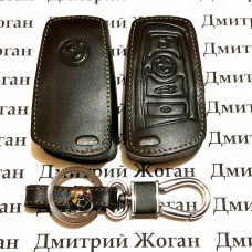 Чехол (кожаный) для смарт ключа BMW (БМВ) 4 кнопки